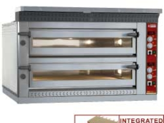 EL.PIZZAS OVEN EXTRA LARGE 2x6 PIZZAS 350MM